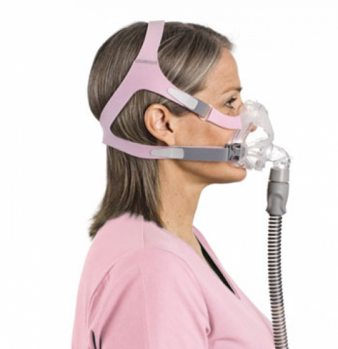 Cpapcentral Com Quattro Fx For Her Full Face Cpap Mask
