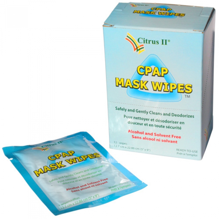 Citrus II CPAP Mask Travel Wipes