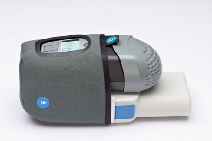 3af4f1d98f00 Z1 PowerShell with Extended Life Battery and Z1 Auto CPAP Side View (Auto  CPAP Shown